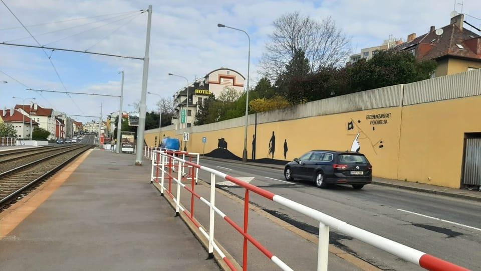 Mural 'Operace Anthropoid'   Foto: Lenka Žižková,  Radio Prague International