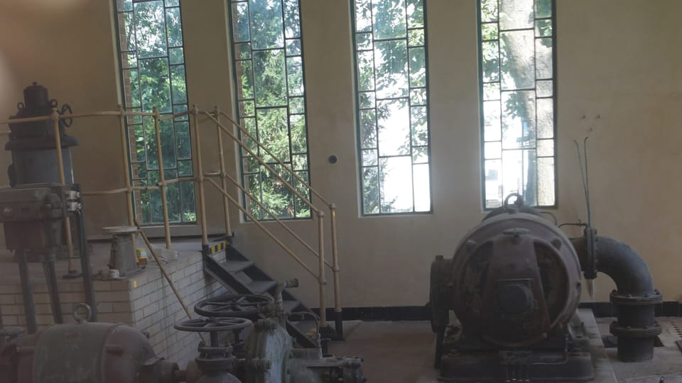 Strojírna zatím prochází rekonstrukcí   Foto: Miloš Turek,  Radio Prague International