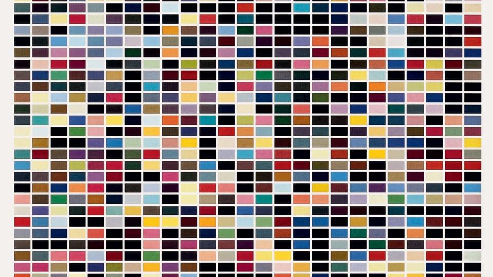 Gerhard Richeter: 1025 barev,  foto: archiv Národní galerie v Praze