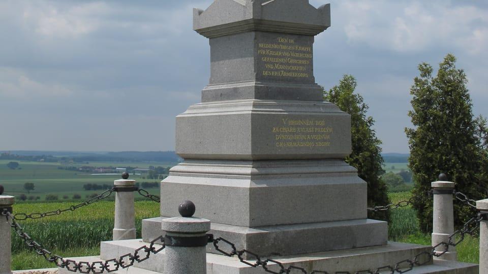 Památná místa bitvy u Sadové,  foto: Ivana Vonderková