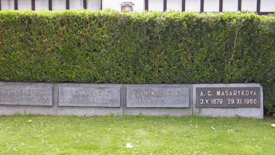 Hrobka Tomáše Garrigua Masaryka v Lánech,  foto: Anton Kajmakov