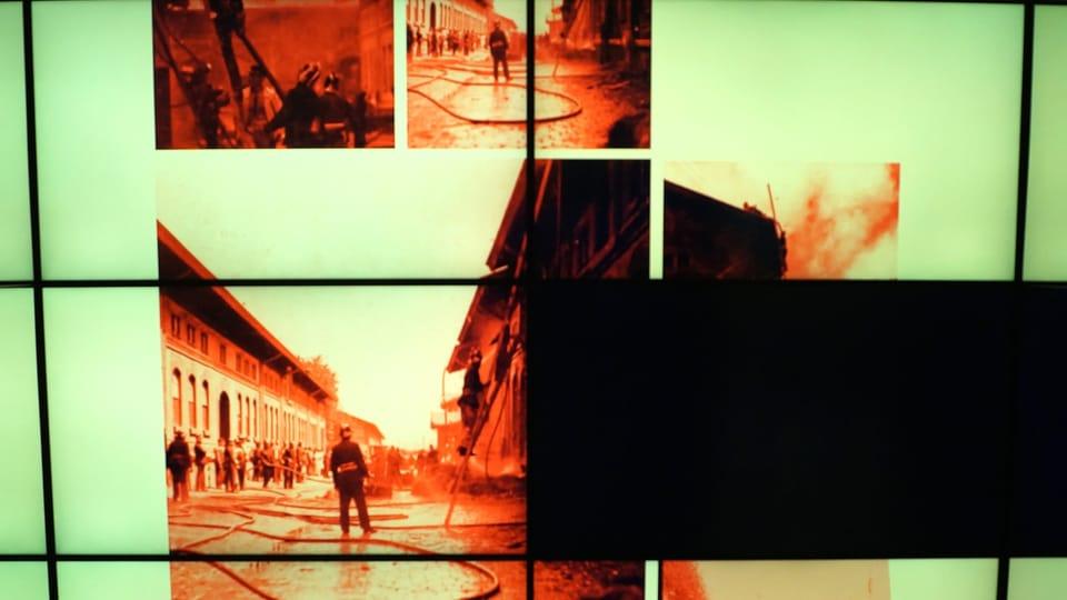 "Čtvrtá část expozice ""Praha hoří"" | Foto: Miloš Turek,  Radio Prague International"