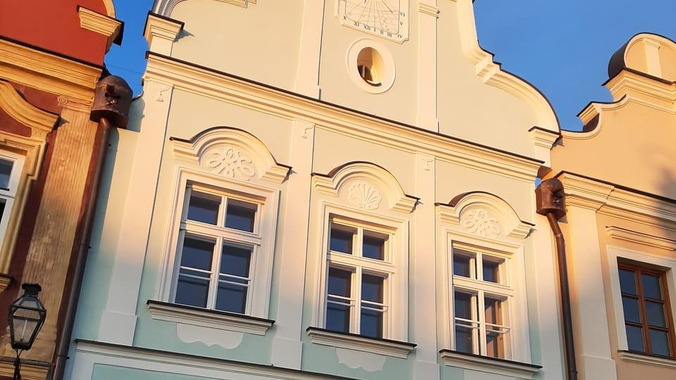 Dům čp. 49 na náměstí Zachariáše z Hradce,  foto: Lenka Žižková