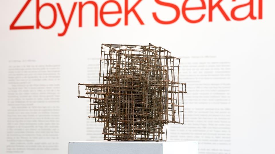 Zbyněk Sekal,  Kříž,  po roce 1975,  soukromá sbírka,  foto: Johannes Stoll / Belvedere,  Wien © Bildrecht Wien,  2020
