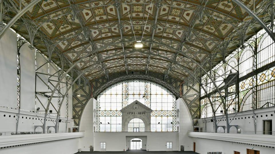 Průmyslový palác v Praze,  foto: Tomáš Vodňanský,  ČRo