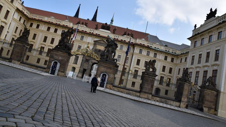 Pražský hrad z pohledu od Hradčanského náměstí,  foto: Barbora Němcová