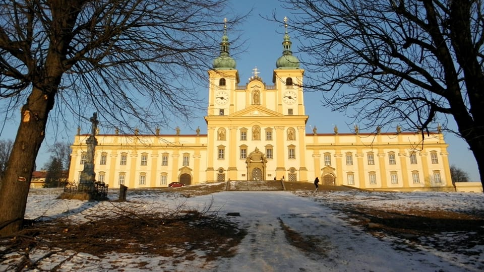 Bazilika Navštívení Panny Marie na Svatém Kopečku,  foto: Aleš Spurný,  archiv ČRo