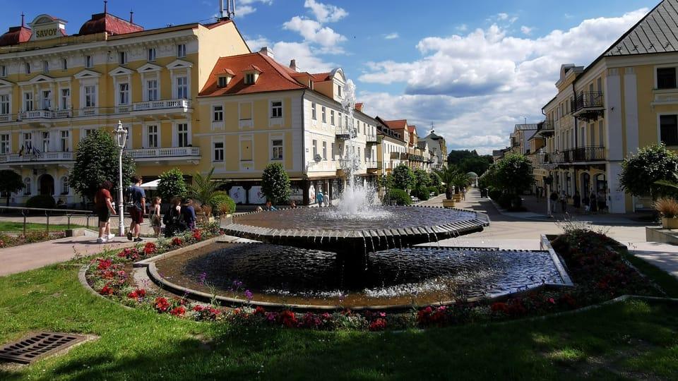 Lázeňská fontána | Foto: Klára Stejskalová,  Radio Prague International