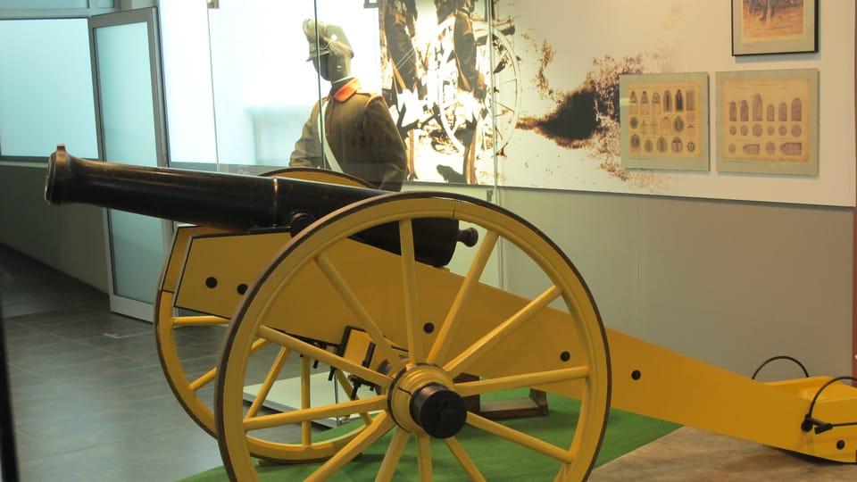 Exponáty Muzea války na Chlumu,  foto: Ivana Vonderková