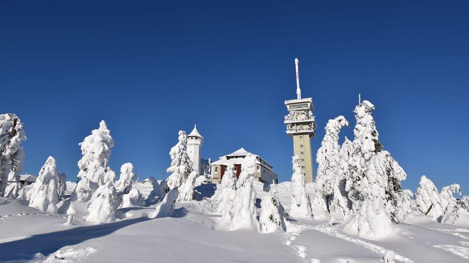 Krušné hory | Foto: Ondřej Tomšů,  Radio Prague International