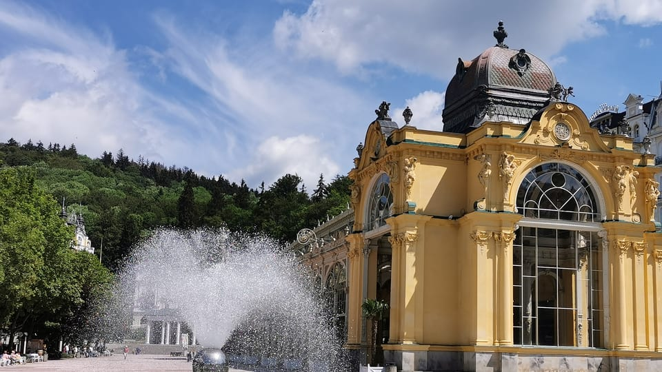 Zpívající fontána,  Mariánské Lázně | Foto: Klára Stejskalová,  Radio Prague International