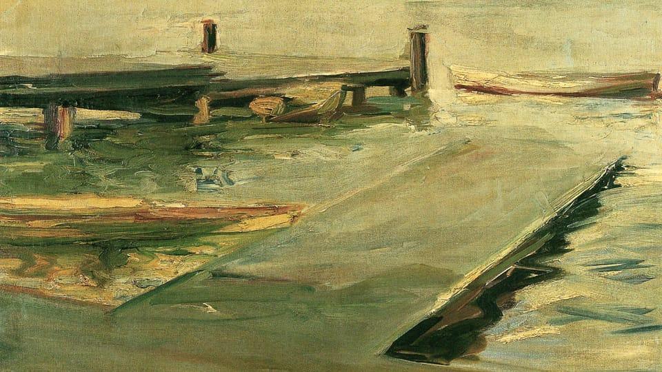 Georges Kars,  'Přístavní můstek',  1907,  zdroj: Jiří Siblík/Židovské muzeum v Praze