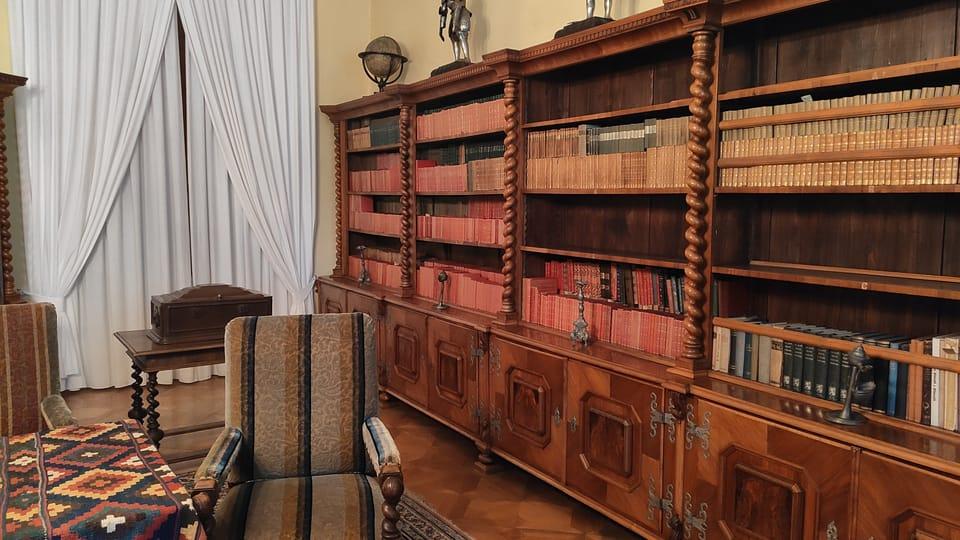 Knihovna Podstatzky-Lichtensteinů,  foto: Klára Stejskalová