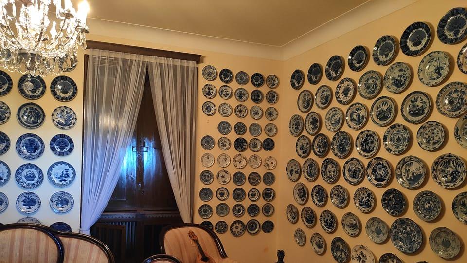 Talířový pokoj,  foto: Klára Stejskalová