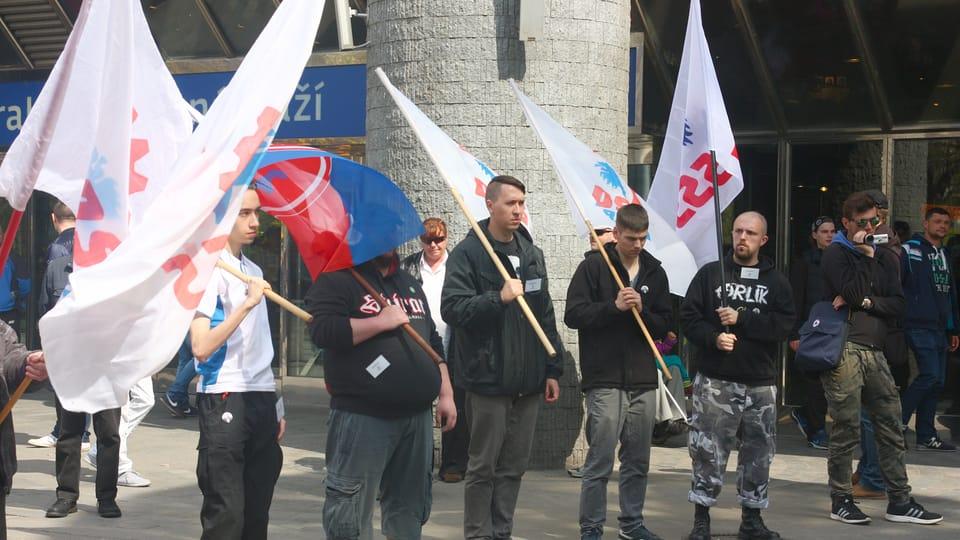 Příznivci DSSS,  foto: Štěpánka Budková
