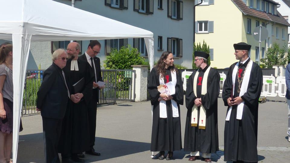 Každoroční obřad uctění památky Jana Husa | Foto: Klára Stejskalová,  Radio Prague International