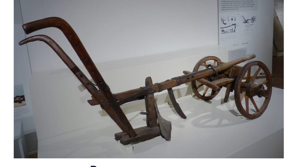 Ruchadlo bratranců Veverkových,  vynález z roku 1827,  foto: archiv ČRo - Radio Prague International