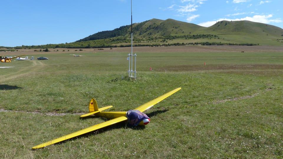 Aeroklub Raná,  foto: Klára Stejskalová