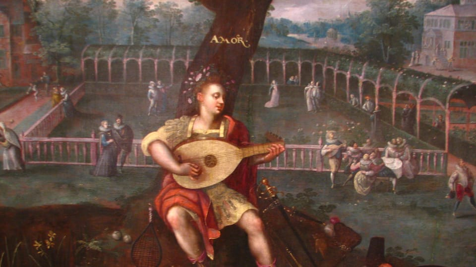 Amor - Jaro - Mládí,  konec 16.století