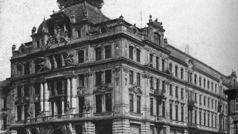 Od 1. října 1907 pracoval Kafka v pražské pobočce italské pojišťovací společnosti Assicurazioni Generali,  foto: Public Domain