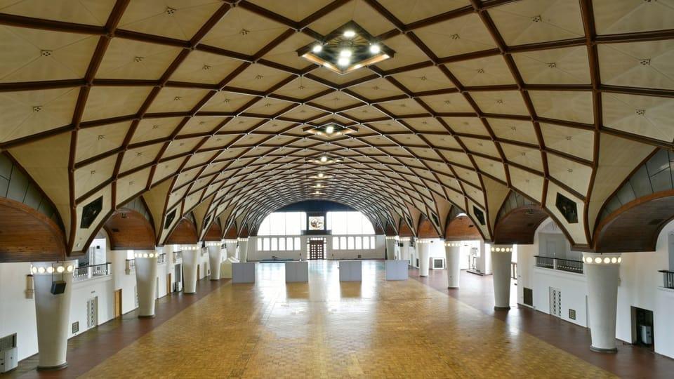 Průmyslový palác v Praze Holešovicích,  foto: Tomáš Vodňanský,  ČRo