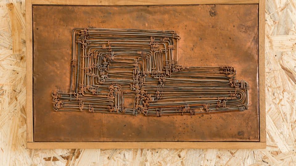 Zbyněk Sekal,  Schéma účelného provozu,  196,  foto: Johannes Stoll / Belvedere,  Wien © Bildrecht Wien,  2020