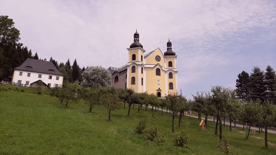 Kostel v Neratově,  foto: Lenka Žižková