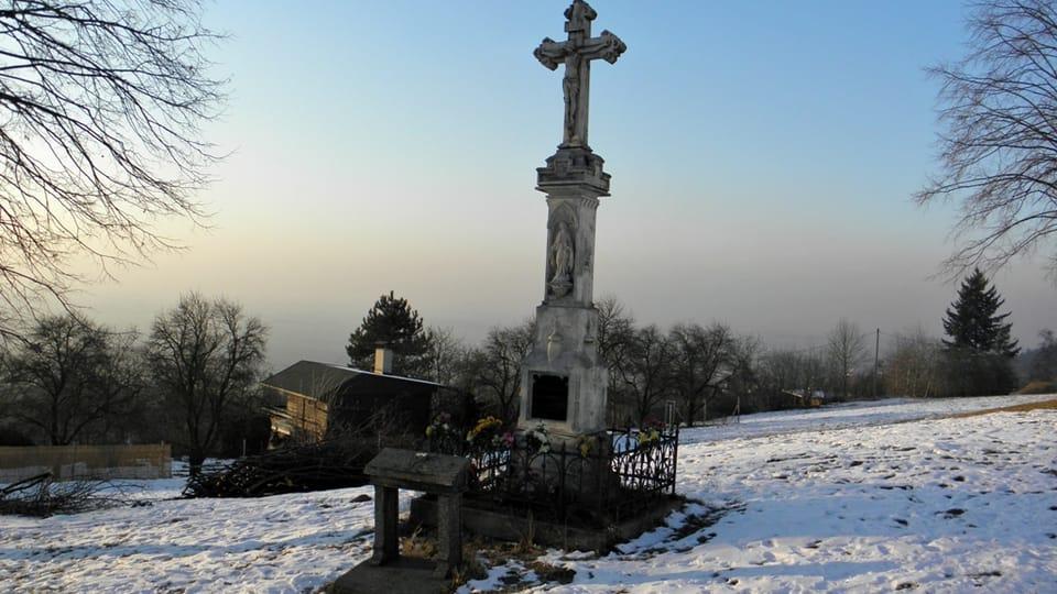 Wolkerův kříž,  foto: Aleš Spurný,  archiv ČRo