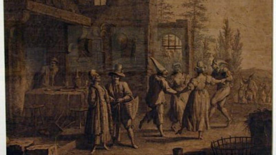 Francesco Bartolozzi,  Únor,  rok 1761