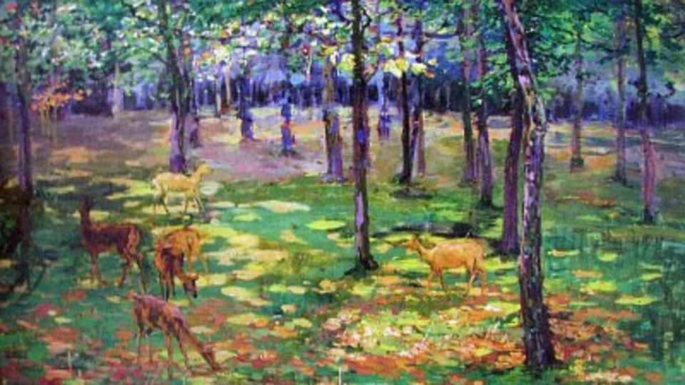 Bechyňská obora I  (srnky),  1899