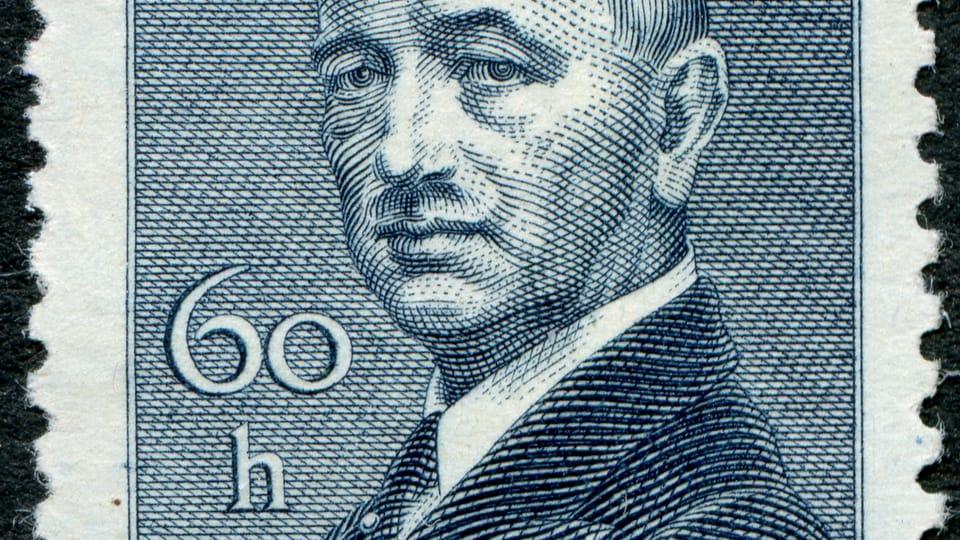 Edvard Beneš,  foto: archiv Poštovního muzea