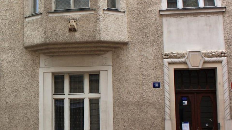 Kafkův byt v Bílkově ulici,  kde napsal román Proces,  foto: Štěpánka Budková