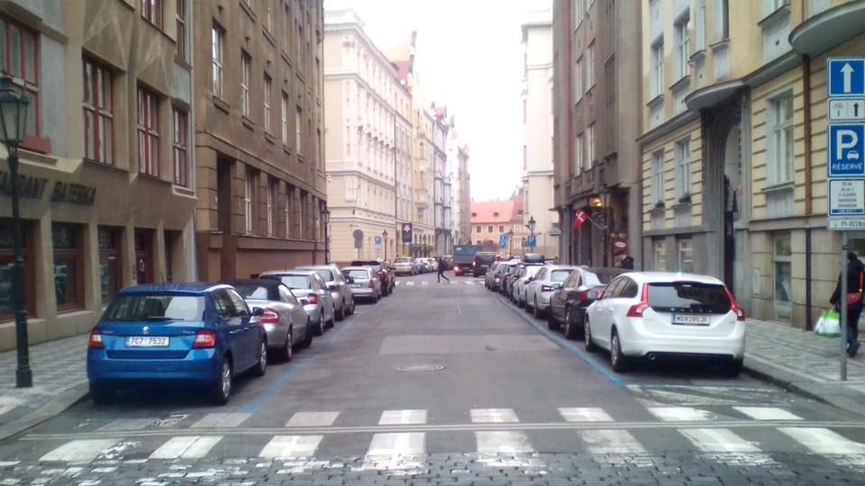 Bílkova ulice,  kde Kafka začal psát Proces,  foto: František Korbel,  Wikimedia Commons,  CC BY-SA 4.0