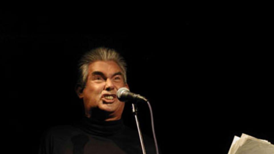 Jaap Blonk,  foto: Josefína Mošová