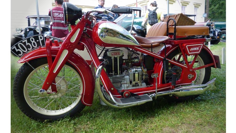 Motocykl Jawa 350 SV - předválečný model úspěšné značky Jawa,  vyráběný od roku 1934. Foto: archiv ČRo - Radio Prague International