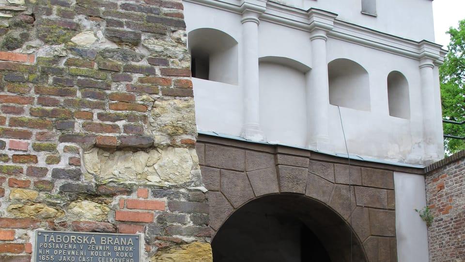Táborská brána,  foto: Kristýna Maková / Praha křížem krážem