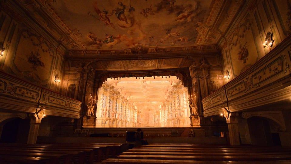 Zámecké divadlo,  foto: Ondřej Tomšů