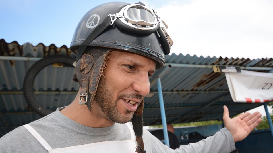 Dereck Washington - jezdec z USA,  foto: Eva Turečková
