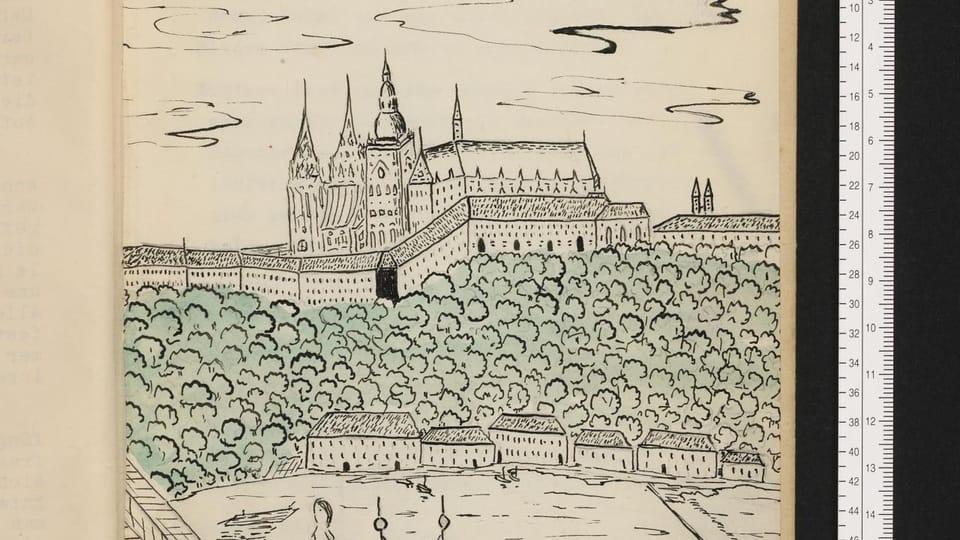 Ilustrace 13 letého Martina Welse,  foto: Archiv rodiny Welsovy