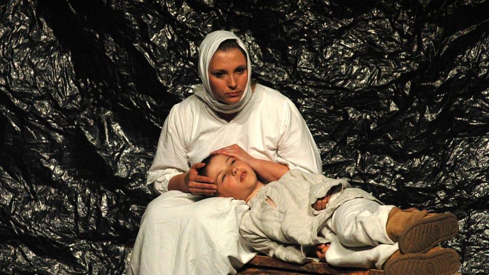 Divadelní soubor Jana Honsy představí na Jiráskově Hronově inscenaci Advent,  foto: Milan Strotzer,  archiv Divadelního pikniku Volyně