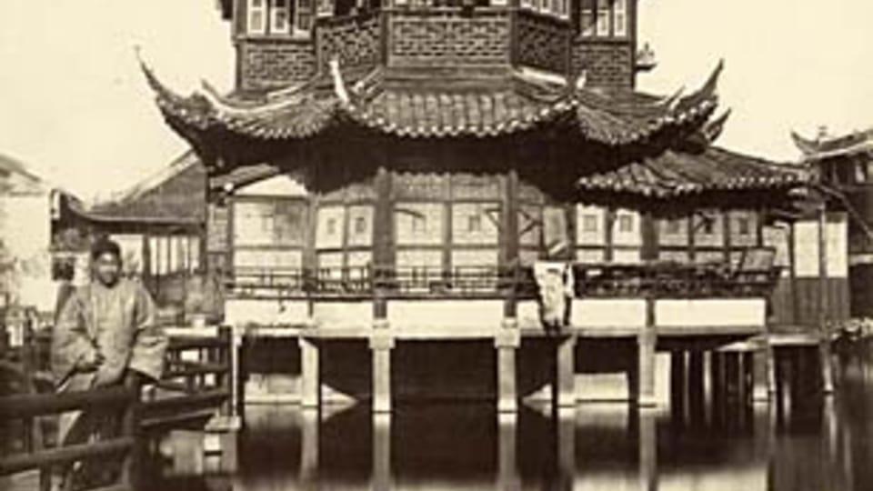 Čajovna po vrbovými listy v Šanghaji  (neznámý autor)