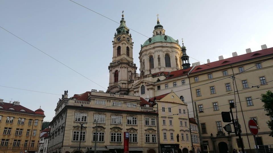 L'église Saint-Nicolas à Malá Strana,  photo: Štěpánka Budková