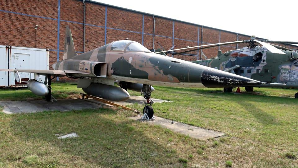 Americký stíhací letoun Northrop F-5E Tiger II,  foto: Štěpánka Budková