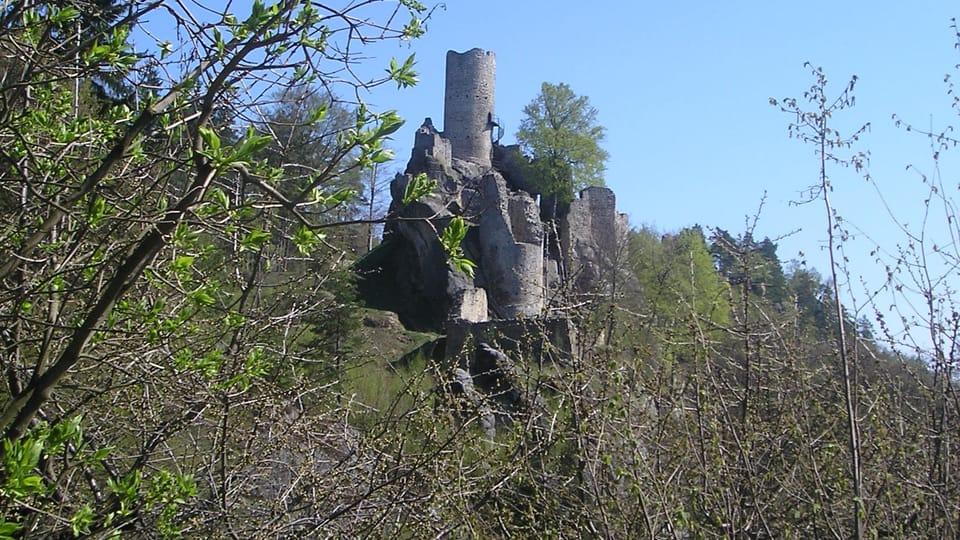 Zříceniny hradu Frýdštejn,  foto: Magdalena Kašubová