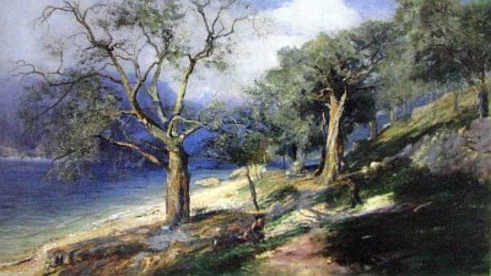 Gardské jezero,  1896