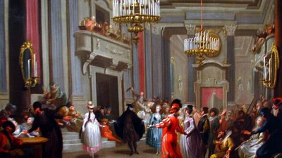 Johann Josef Karl Henrici,  Maškarní ples,  1776