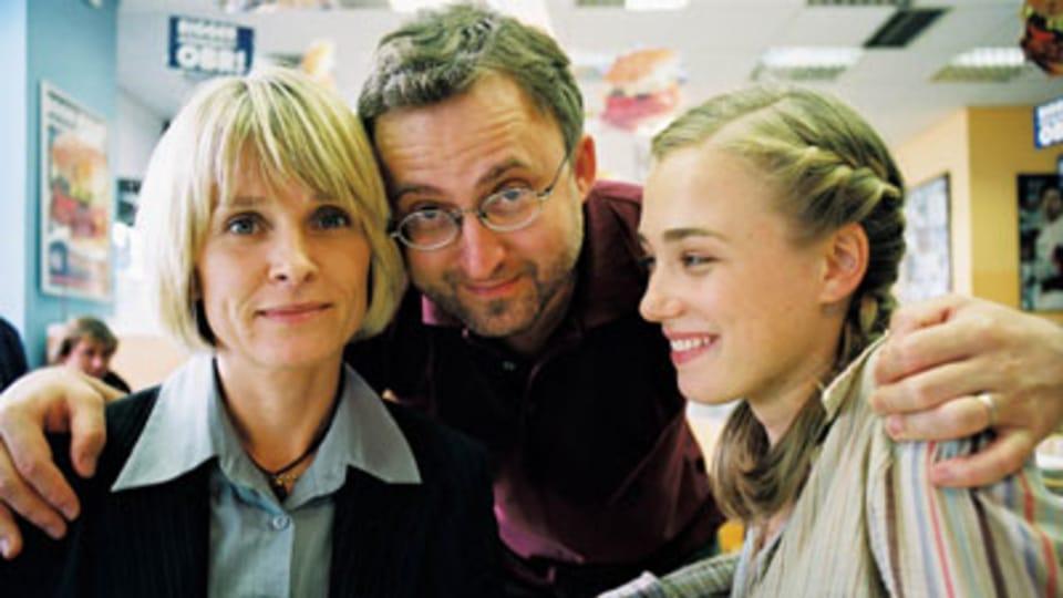 Jan Hřebejk s herečkami