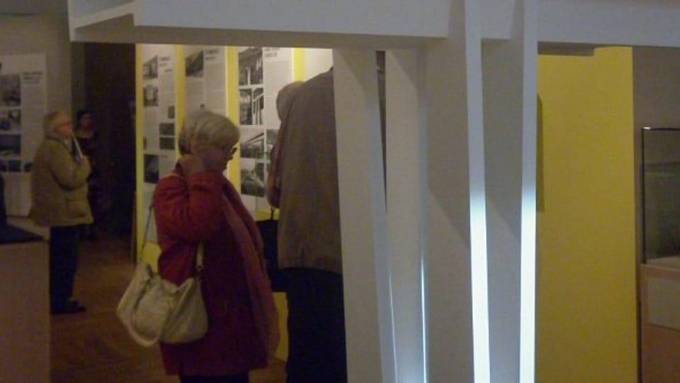 Výstava v Národním technickém muzeu věnovaná Nuselskému mostu,  foto: Zdeňka Kuchyňová