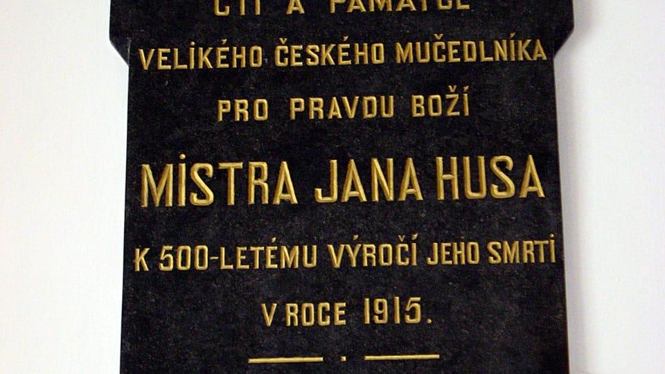 Pamětní deska v polském Zelově,  foto: Filiplip123,  Wikimedia Commons,  CC BY-SA 3.0