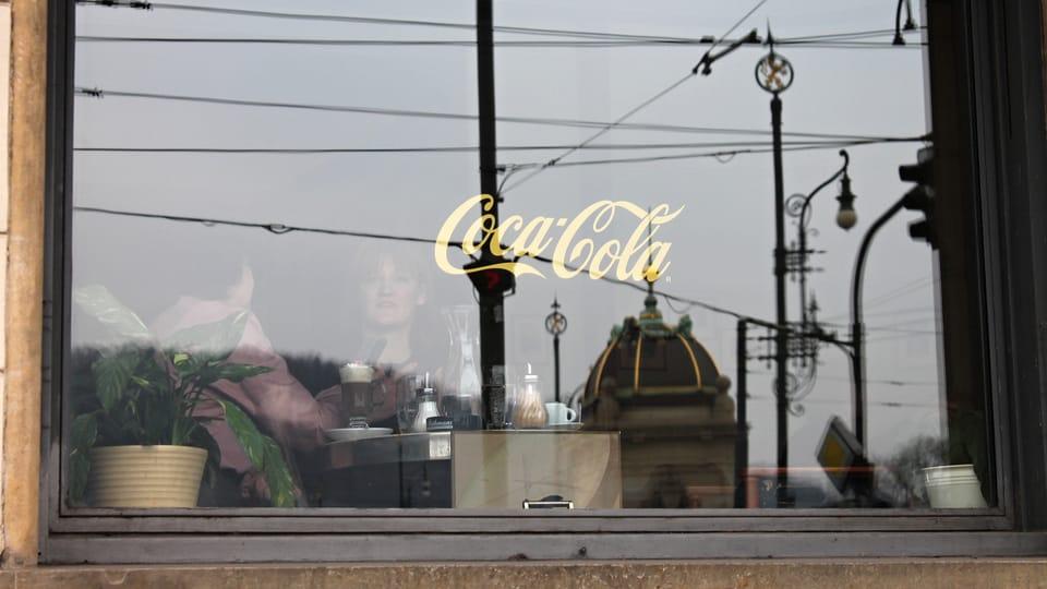 Kavárna Slavia,  foto: Ondřej Tomšů